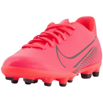 Nike Nocken-SohleNike Jr. Mercurial Vapor 13 Club MG - AT8161-606 rot