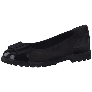 Tamaris Top Trends Ballerinas schwarz