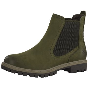 Tamaris Chelsea BootStiefel grün