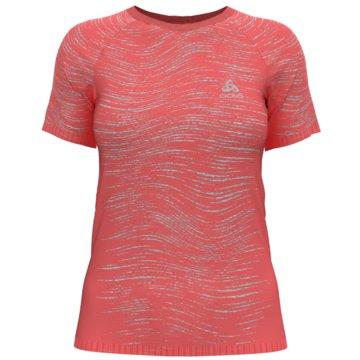 ODLO T-ShirtsT-SHIRT S/S CREW NECK BLACKCOM - 313311 rot