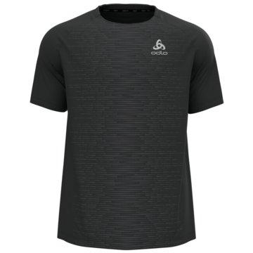 ODLO T-ShirtsT-SHIRT S/S CREW NECK ESSENTIA - 313402 schwarz