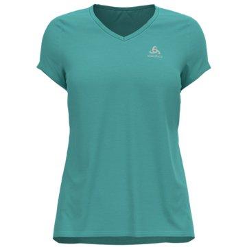 ODLO T-ShirtsT-SHIRT S/S CREW NECK ETHEL - 550951 grün