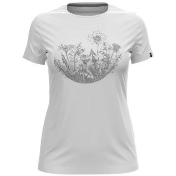 ODLO T-ShirtsT-SHIRT S/S CREW NECK KUMANO P - 594051 weiß