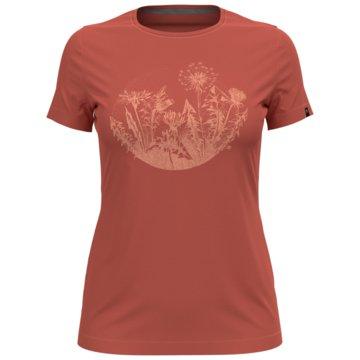 ODLO T-ShirtsT-SHIRT S/S CREW NECK KUMANO P - 594051 rot
