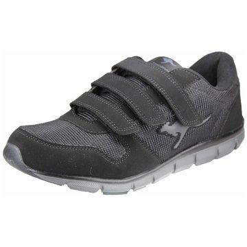 KangaROOS Komfort Slipper schwarz