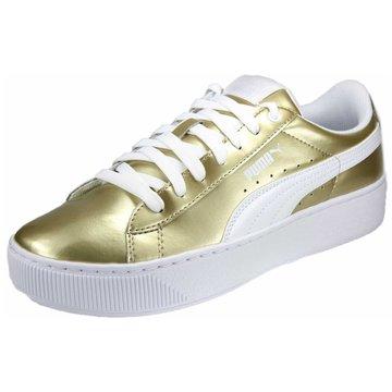 Puma Plateau Sneaker gold