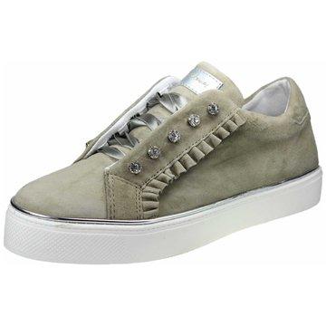 Alpe Woman Shoes Sneaker Low oliv