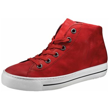 Paul Green Sneaker High4735 rot