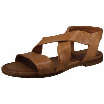 Mustang Komfort Sandale braun