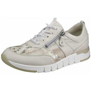 Waldläufer Komfort SchnürschuhSneaker beige