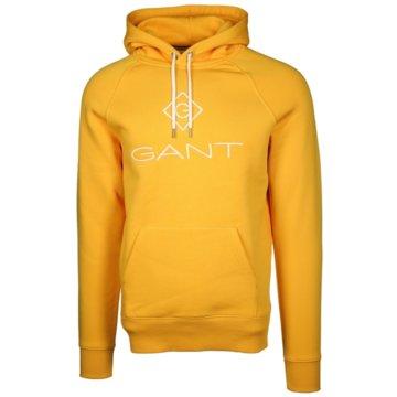 Gant Hoodies gelb