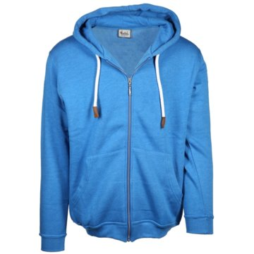 wind sportswear Sweatjacken blau