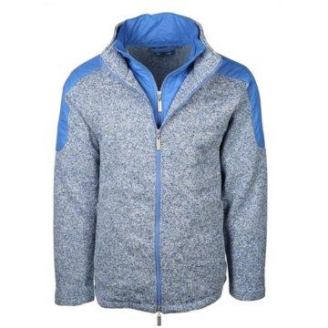 wind sportswear Fleecejacken blau