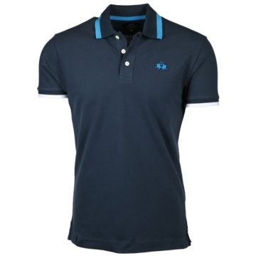 La Martina Poloshirts blau