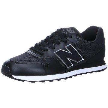 New Balance Sneaker LowGM500MA1 - GM500MA1 schwarz