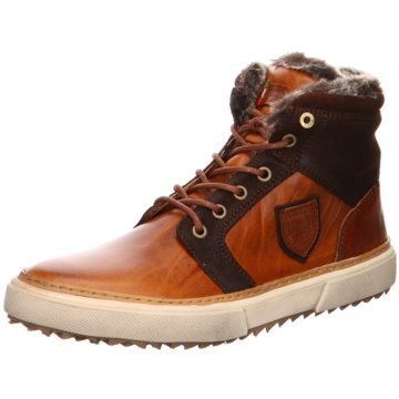 Pantofola d` Oro Sneaker HighBenevento Fur Mid braun