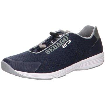 Sebago Sportlicher Slipper blau