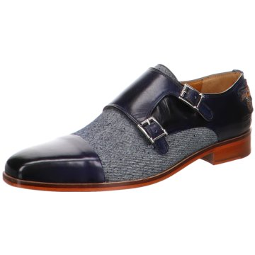 Melvin & Hamilton Business SlipperLance1 blau