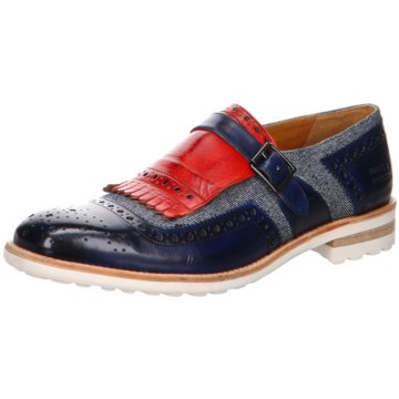 Melvin & Hamilton Business Slipper blau