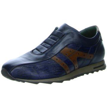 GALIZIO TORRESI Sportlicher Slipper blau