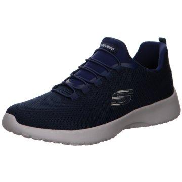 Skechers Komfort Schnürschuh blau