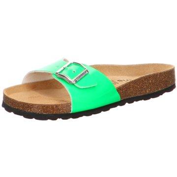 Tamaris Klassische Pantolette grün