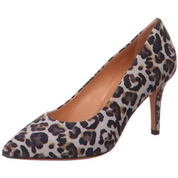 Franco Russo Napoli Klassischer Pumps animal