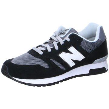 New Balance Sneaker LowML565CBK - ML565CBK D schwarz