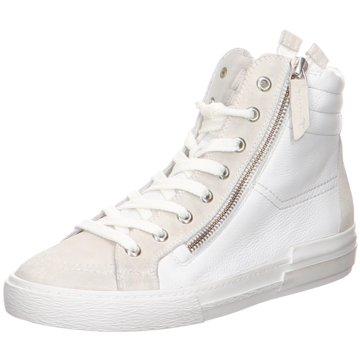 Paul Green Sneaker High4004 weiß