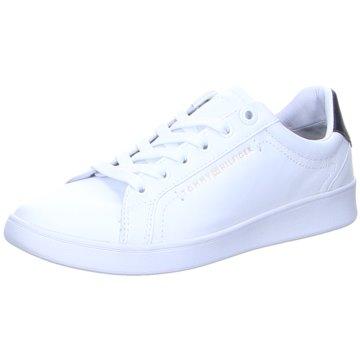 Tommy Hilfiger SneakerPremium Court Sneaker weiß