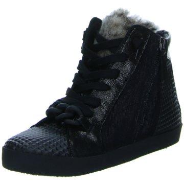 Donna Carolina Sneaker WedgesTess schwarz