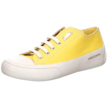 Candice Cooper Sportlicher Schnürschuh gelb