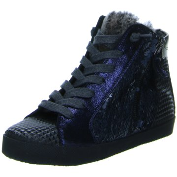 Donna Carolina Sneaker High blau