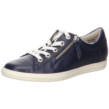Paul Green Sportlicher SchnürschuhSneaker blau