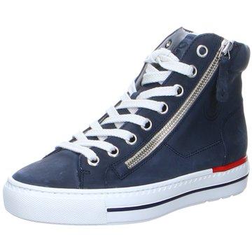 Paul Green Sneaker High4024 blau