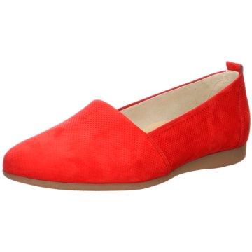 Paul Green Klassischer Slipper rot