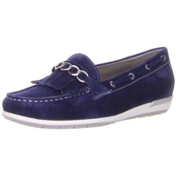 ara BootsschuhMonterey blau