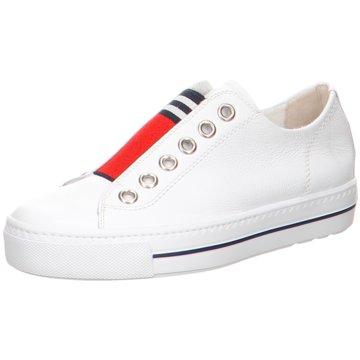 Paul Green Sportlicher Slipper4797 weiß