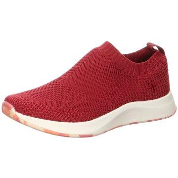 Tamaris Sportlicher Slipper rot
