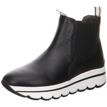 Gabor Sneaker HighChelsea-Bootie schwarz