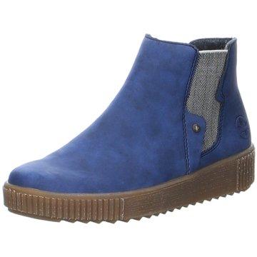 Rieker Chelsea BootAnkle-Bootie blau