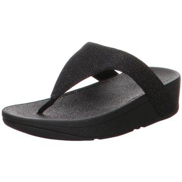 FitFlop Bade- Zehentrenner schwarz