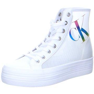 Calvin Klein Sneaker High weiß