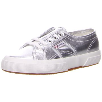 Superga Sneaker Low silber