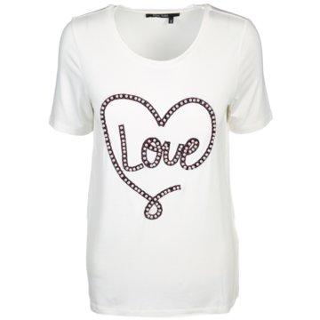 Marc Aurel T-Shirts weiß