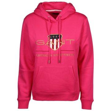 Gant DamenmodeARCHIVE SHIELD SWEAT HOODIE pink