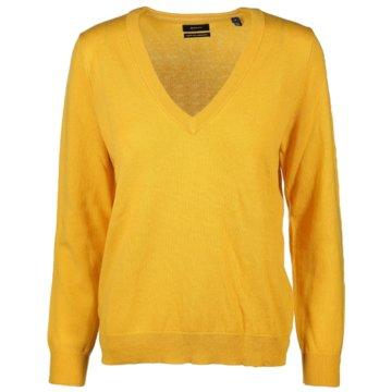 Gant Strickpullover gelb