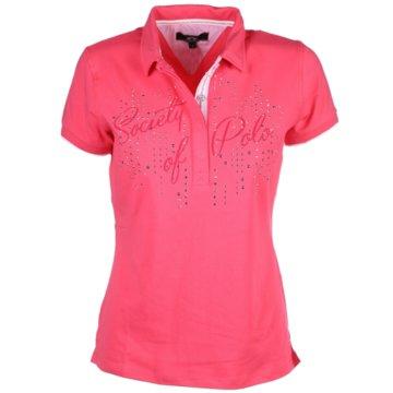 HV Society PoloshirtsAngelina pink