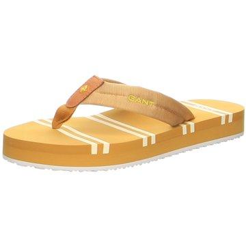 Gant Bade- ZehentrennerLemonbeach Beach Sandal gelb