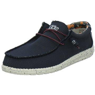 Hey Dude Shoes Mokassin SchnürschuhWally Sox blau